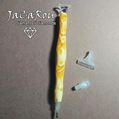 Stylet pour diamond painting BANANE